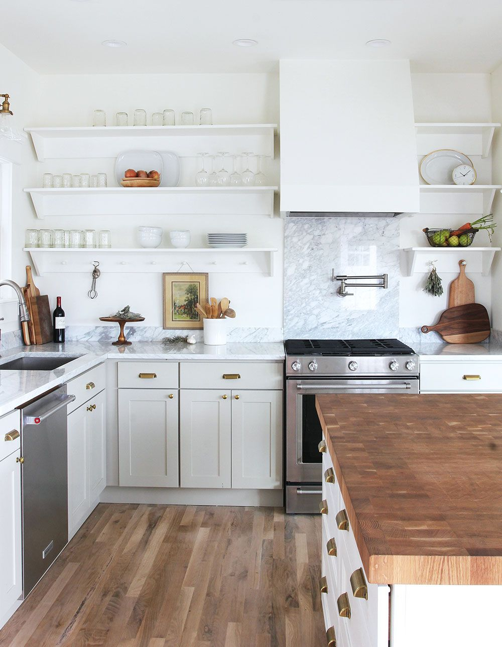 8 Great Neutral Cabinet Colors For Kitchens The Grit And Polish Country Kitchen Designs Neutral Kitchen Designs Kitchen Renovation