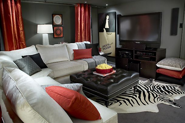 Top 12 Living Rooms By Candice Olson Living Room Red Black Living Room Home Decor