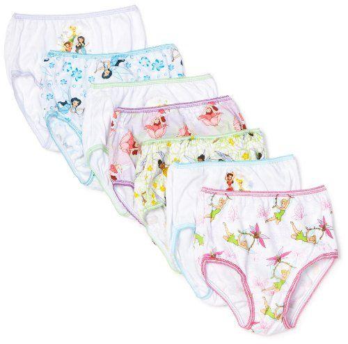 Handcraft Little Girls Nick Dora and Friends Seven-Pack Panty Set Pack of 7