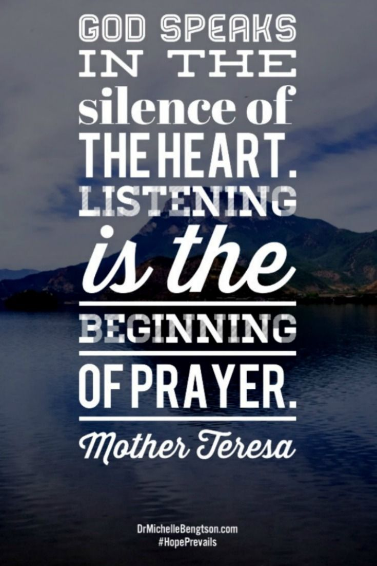 Still Yourself And Listen So You Can Hear God Speak He Speaks In The Silence Of The Hear Christian Quotes Inspirational Inspirational Quotes Literature Quotes