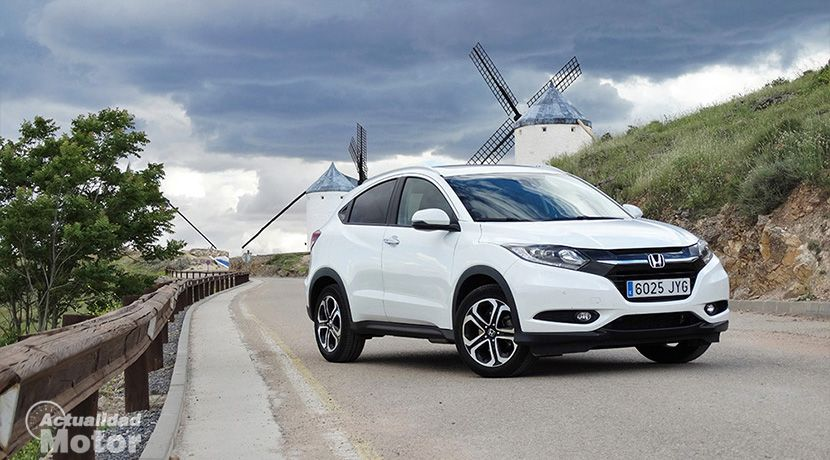 Prueba Honda Hr V 1 6 I Dtec 120 Cv Executive Dinamismo Y Espacio Honda Hrv Honda Guardia Civil