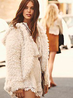 Once Upon A Hood Fluffy Coat
