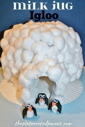 Inuit & Igloo Crafts – The Pinterested Parent #penguincraft