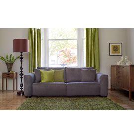 Moss Green Living Room