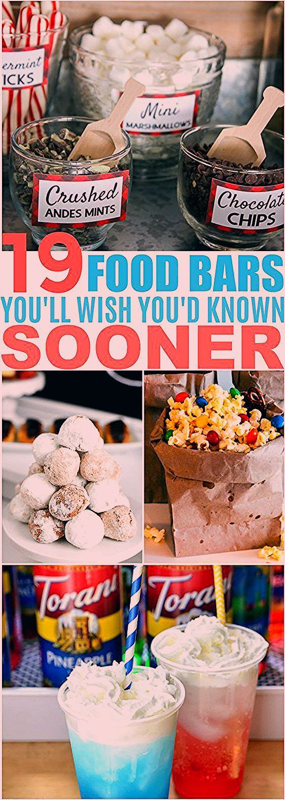 Photo of 23 Stunning Party Food Bars for Your Next Big Occasion