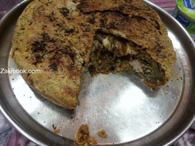 طريقة عمل المكمورة الأردنية خطوة بخطوة مع الصور زاكي Food Arabic Food Breakfast