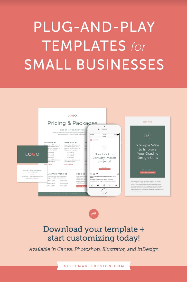 Start Creating Stunning Social Media Imagery Welcome Guides Pricing Sheets Client Worksheets And B Workbook Design Marketing Template Print Design Template