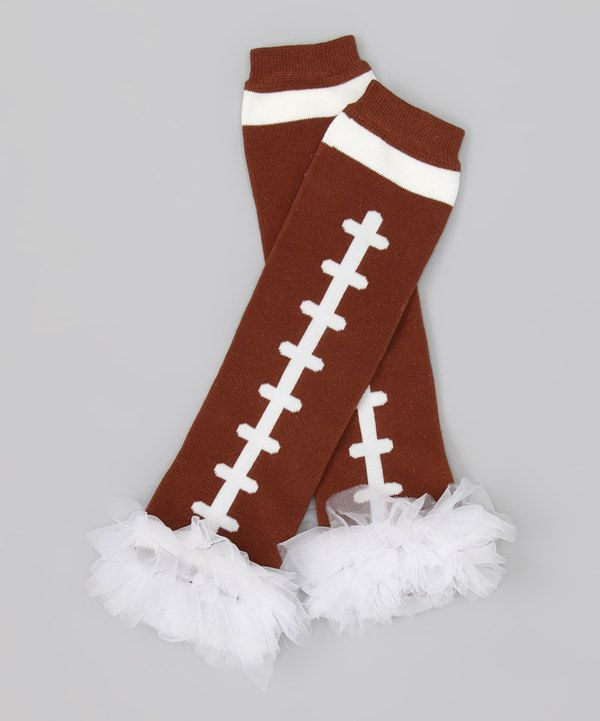 Look At This White Football Leg Warmers On #zulily Today