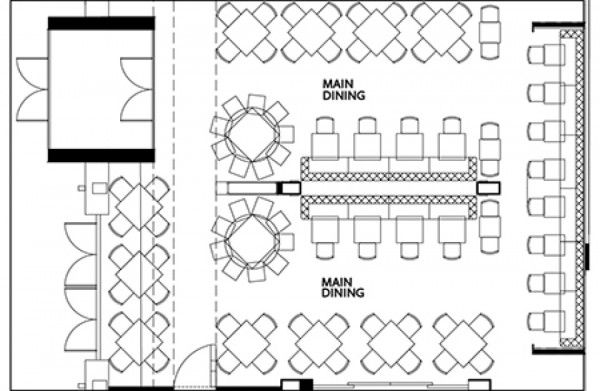 Captivating Bar Plans For Restaurant Bar Blueprints Restaurant Bar