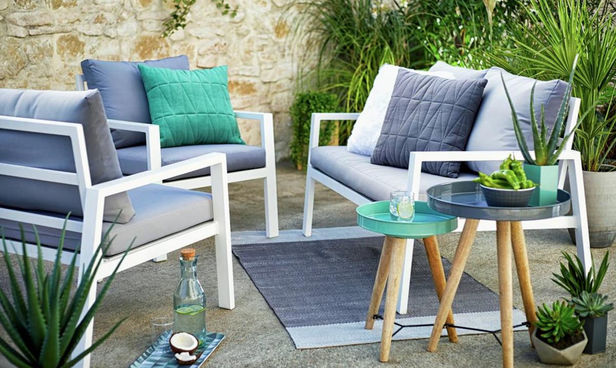 argos aluminium seater garden Google Search Sofa set