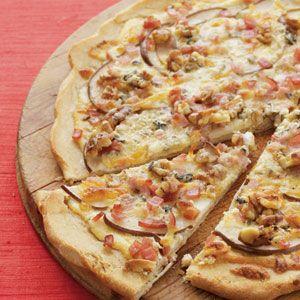 Chicken gorgonzola pizza recipe