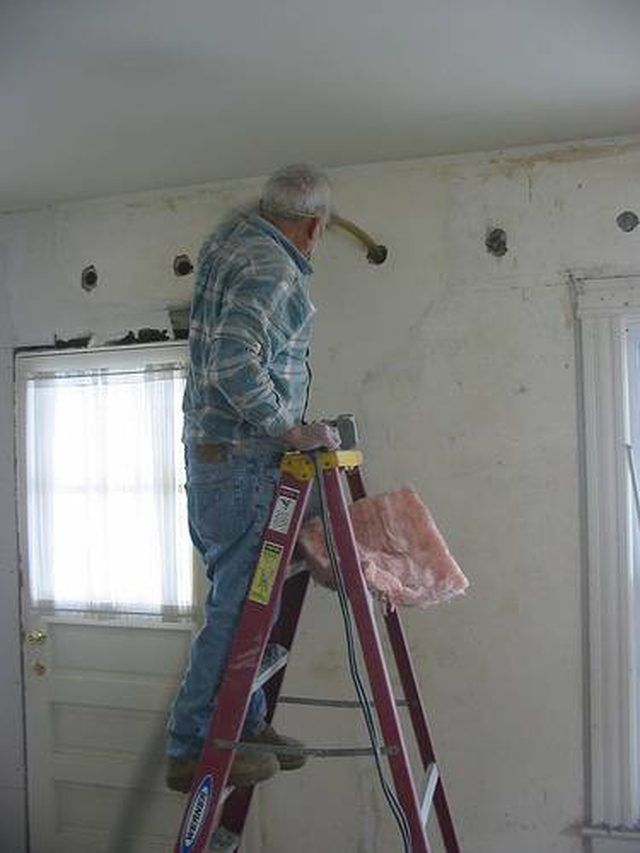 How To Insulate Interior Walls That Are Already Drywalled Interior Wall Insulation Wall Insulation Diy Blown In Insulation