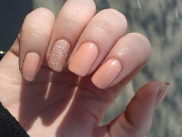 Ciate Sugared Almonds w/ Ciate Confetti (WANT IT) as an accent nail ...