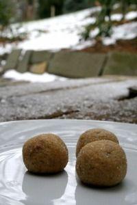 Gingersnap cookie dough truffles - Broma Bakery