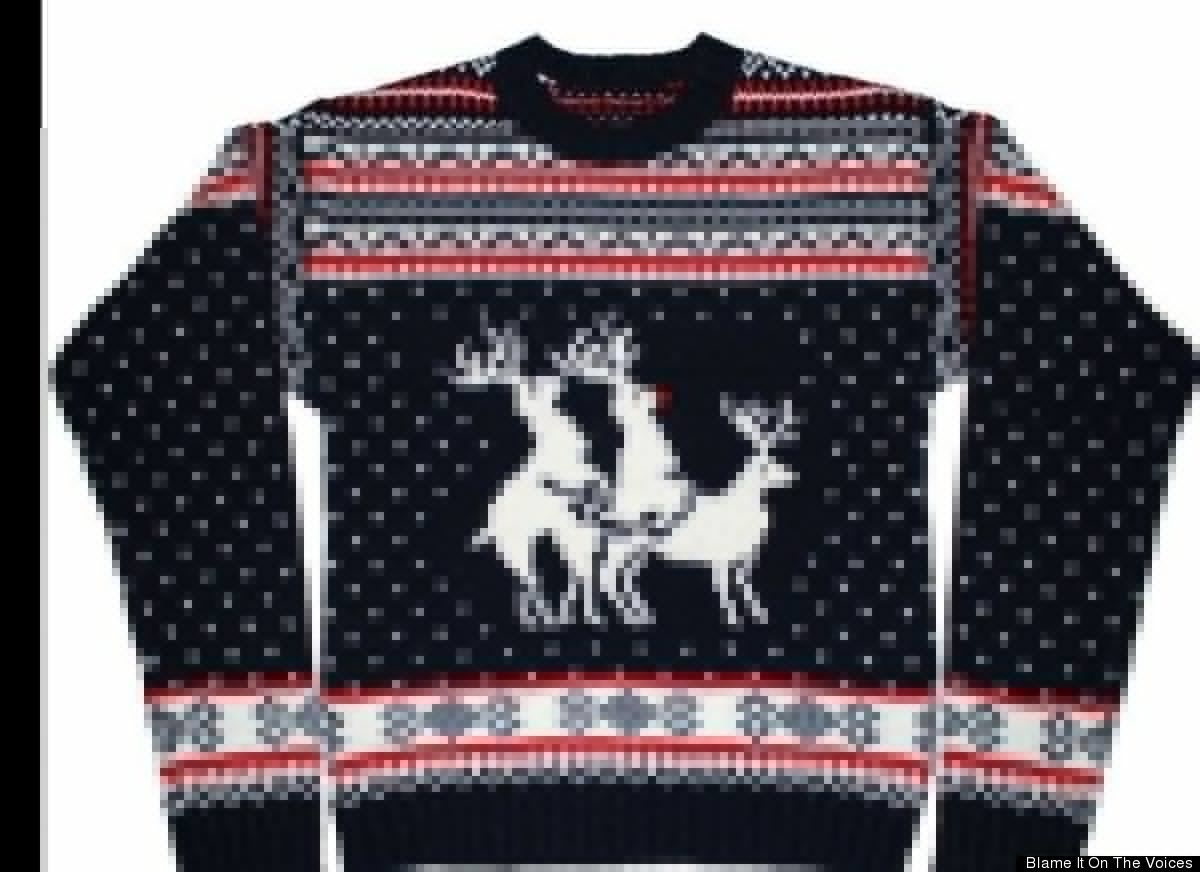 Now we even have obscene Christmas sweaters! Loll | Christmas ...