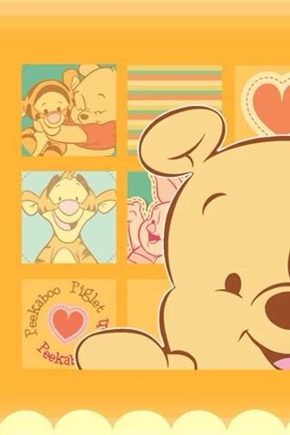 Winnie The Pooh Cute Bigface Iphone Wallpaper Mobile9