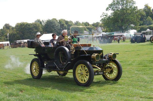 A steam car