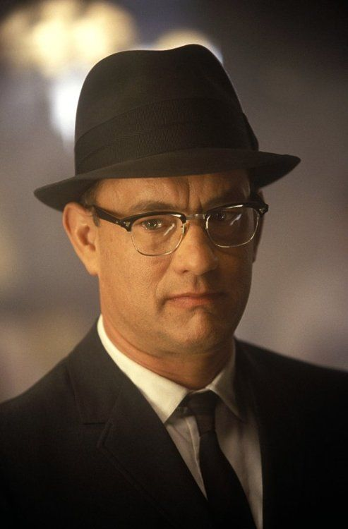 Catch Me If You Can Tom Hanks Male Actor Glasses Hat Suit And