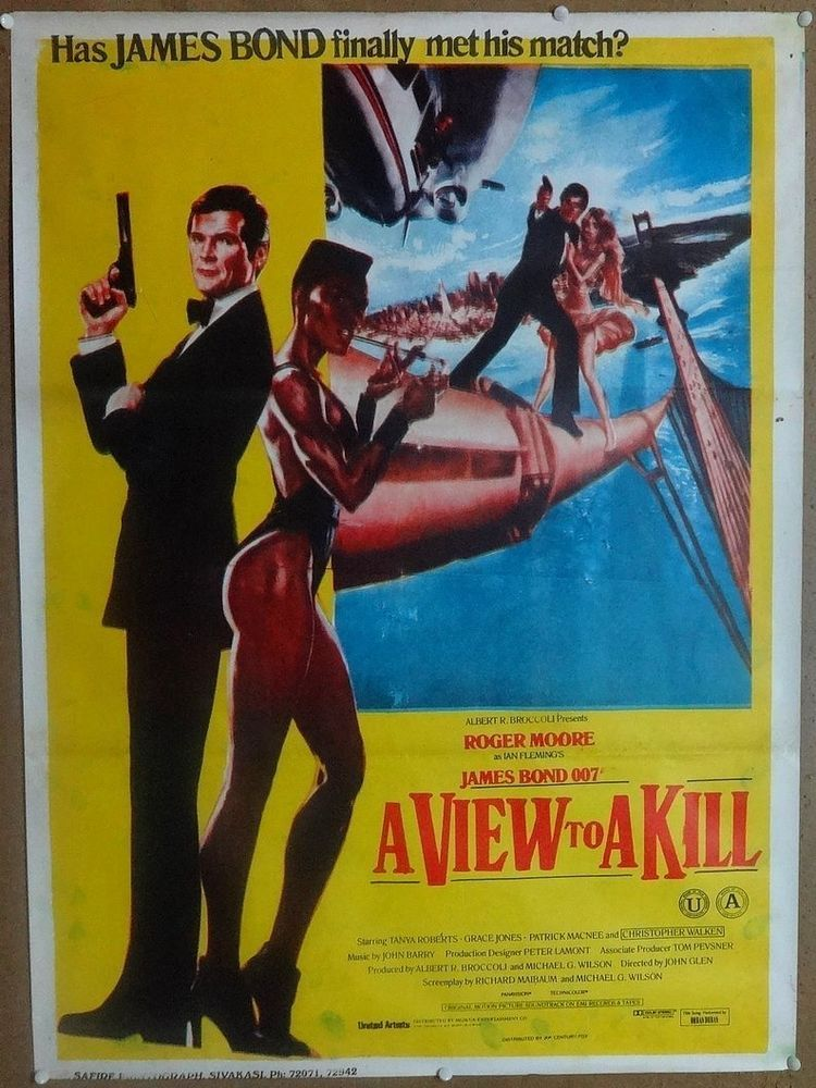 A View To A Kill 1985 Original Release 28 X 38 India Poster