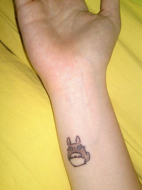 So Simple And Cute Tat 2s Tattoos Small Tattoos Ghibli Tattoo