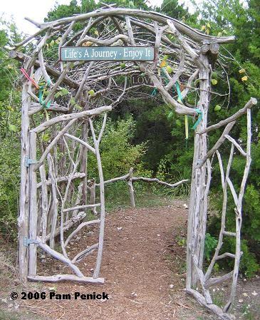 Garden Art Whimsical Garden Decor Garden Gates Pinterest