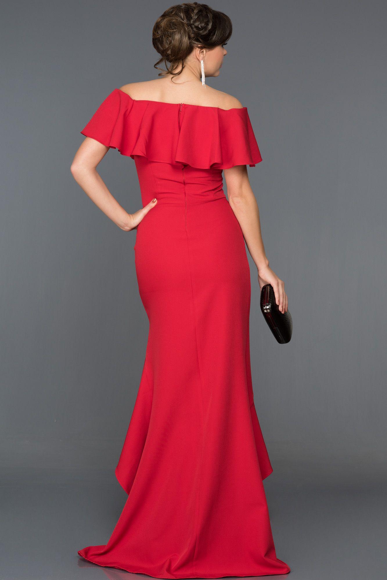 ce2e20660d22c Kayık Yaka Abiye Elbise DS5000 | 2018 Abiye Elbise Modelleri ...