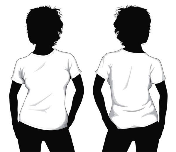Una colección de plantillas de camisetas en alta resolución para ...