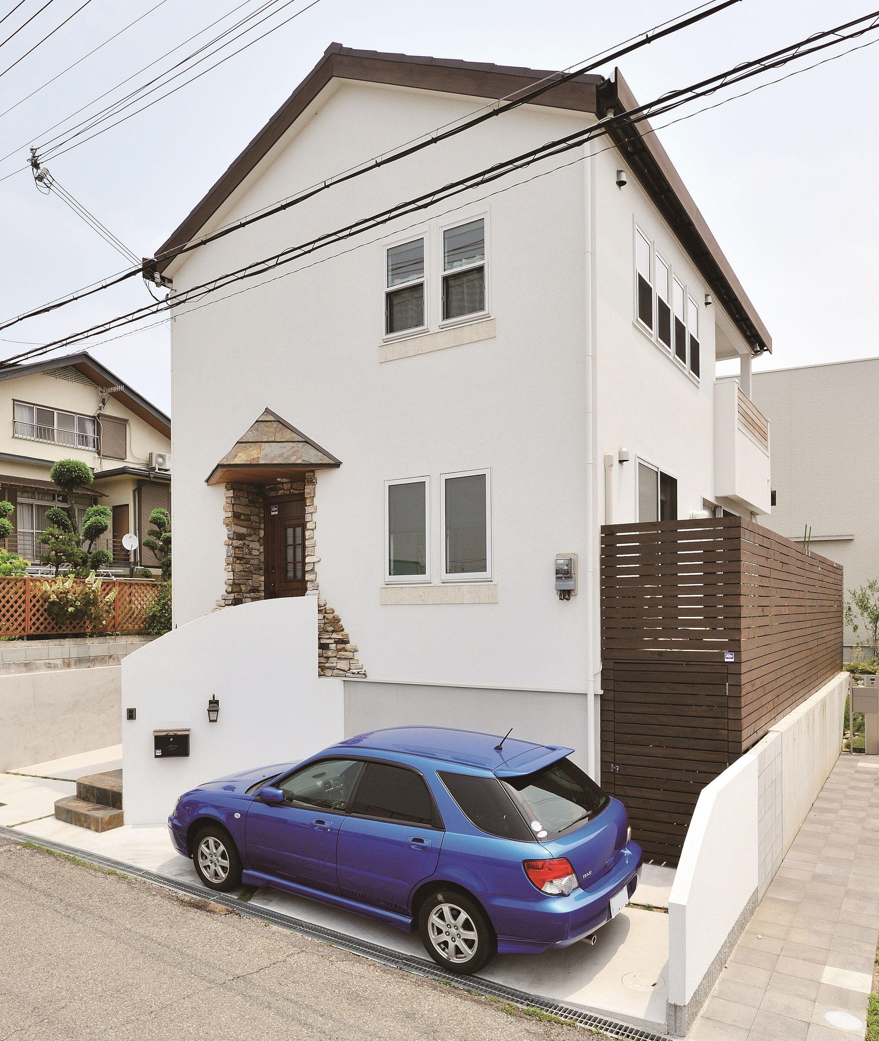 ケース18 無添加住宅 しっくい壁 マイホーム