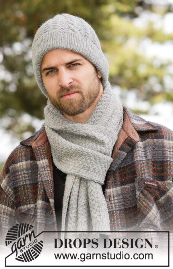Männermütze und passender Schal | Dress Ideas | Pinterest | Stricken ...