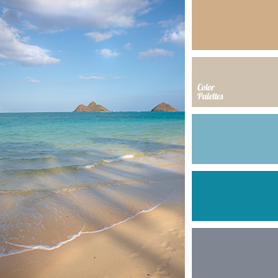 Calm ocean day colore tavolozze sommer colors atolli for Ocean blue color combinations