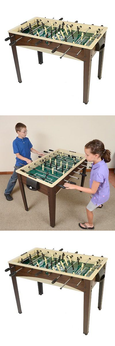 Foosball 36276: Voit Free Kick Foosball Table, 48 Inch BUY IT NOW ONLY