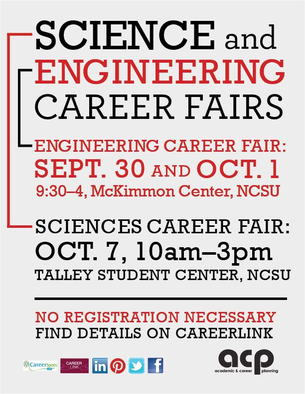 Smb Folks Check This Out Two Of The Biggest Fairs For Maths Sciences And Engineering Are Right Around The Corne Engineering Careers Career Planning Science