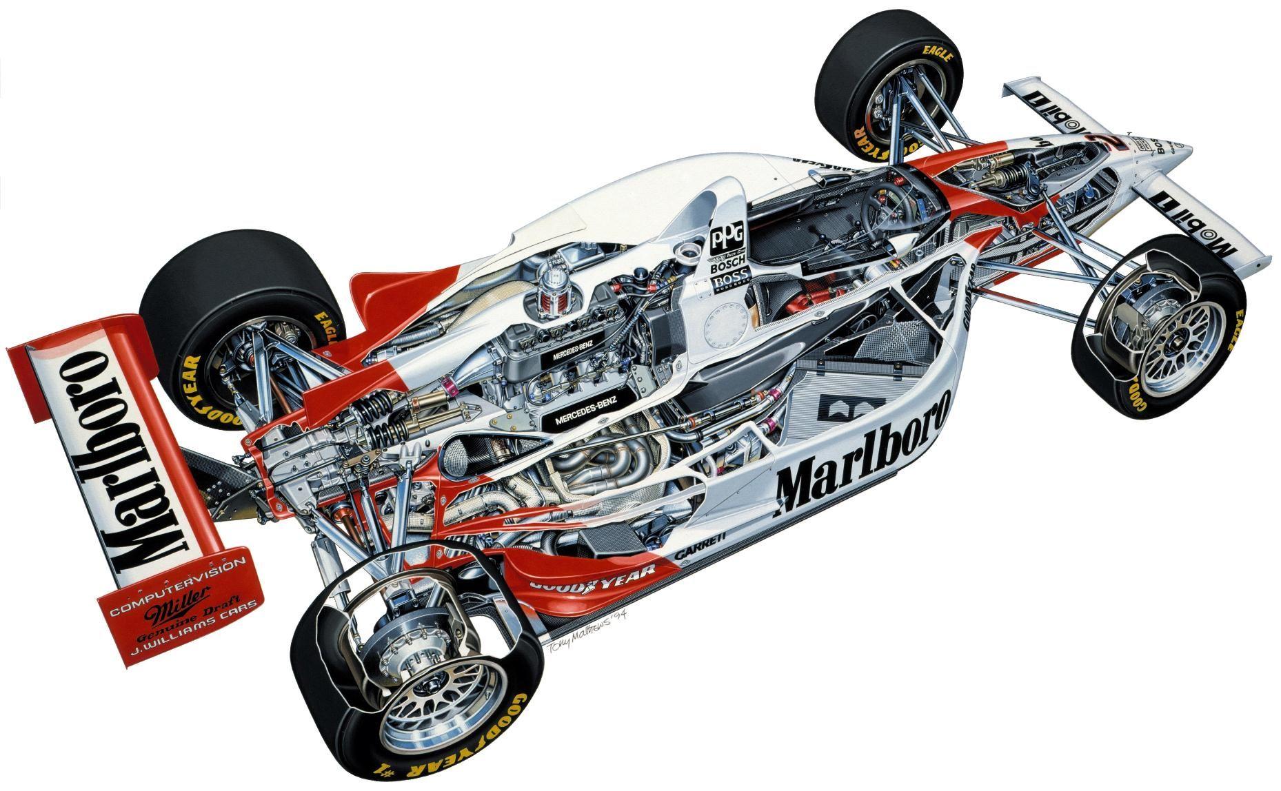 Chassis design of f1 car - Formula 1