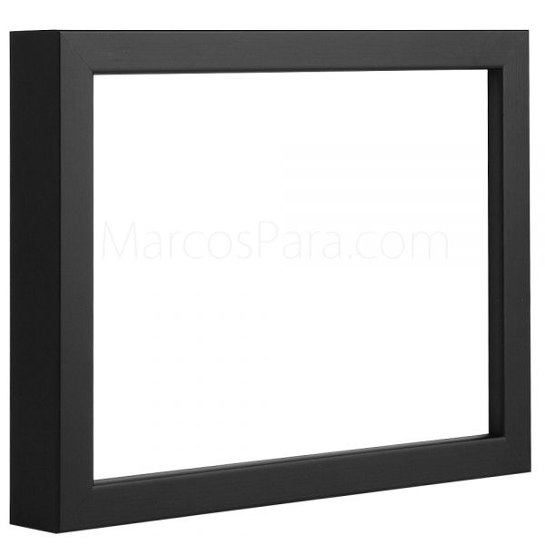 Marcos para puzzles 7384 marco de madera tipo caja de for Marcos a medida online