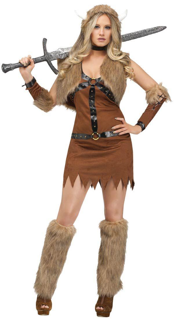 Viking Costume For Women  Viking Womens Sexy Costume - Halloween -9018