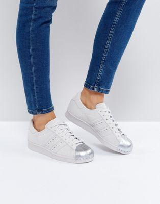 adidas Originals - Superstar 80S - Baskets avec bout renforcé en métal - Blanc lJOm4d