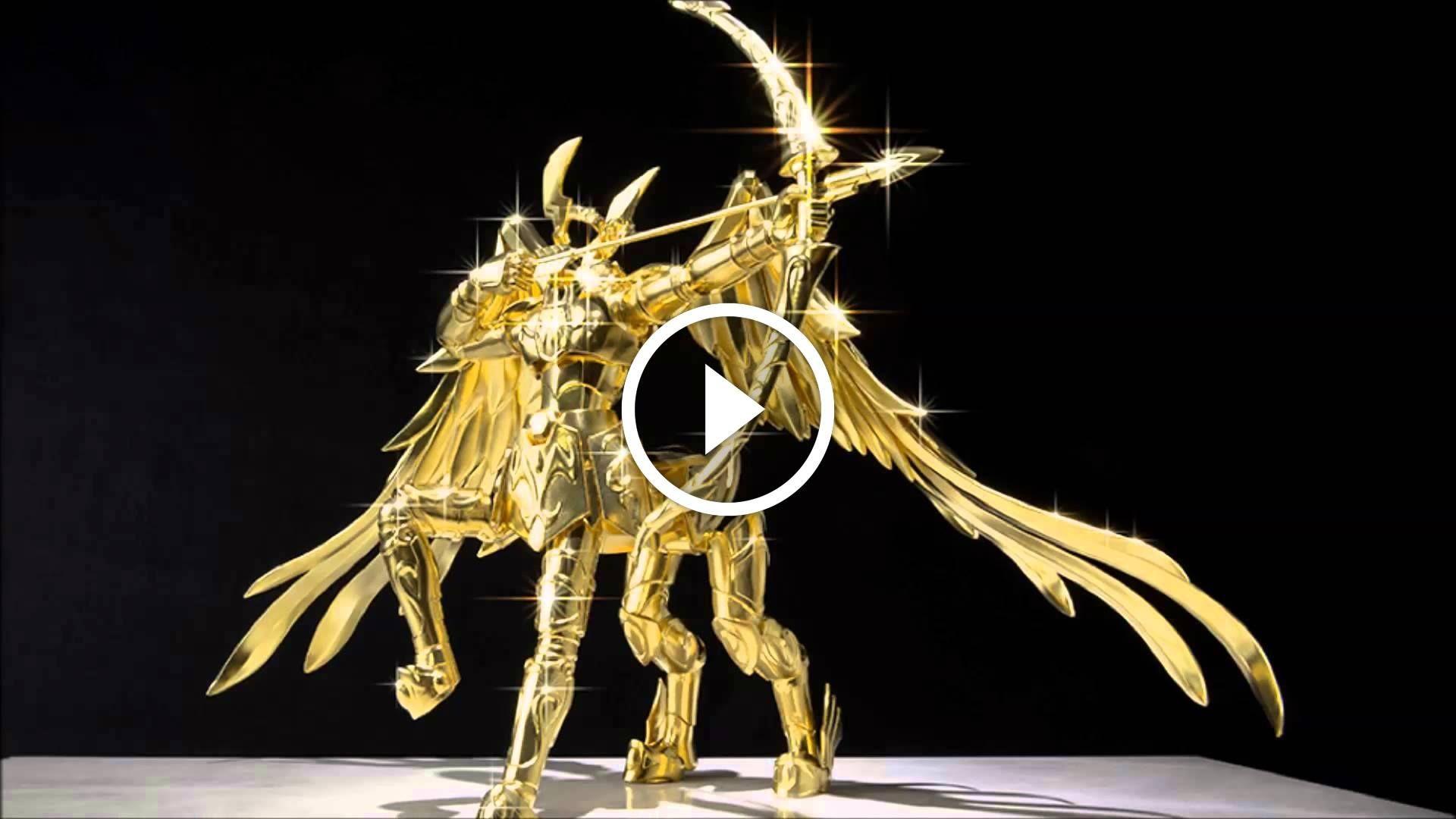 La Armadura de Sagitario realizada completamente en Oro ...  Armadura De Sagitario
