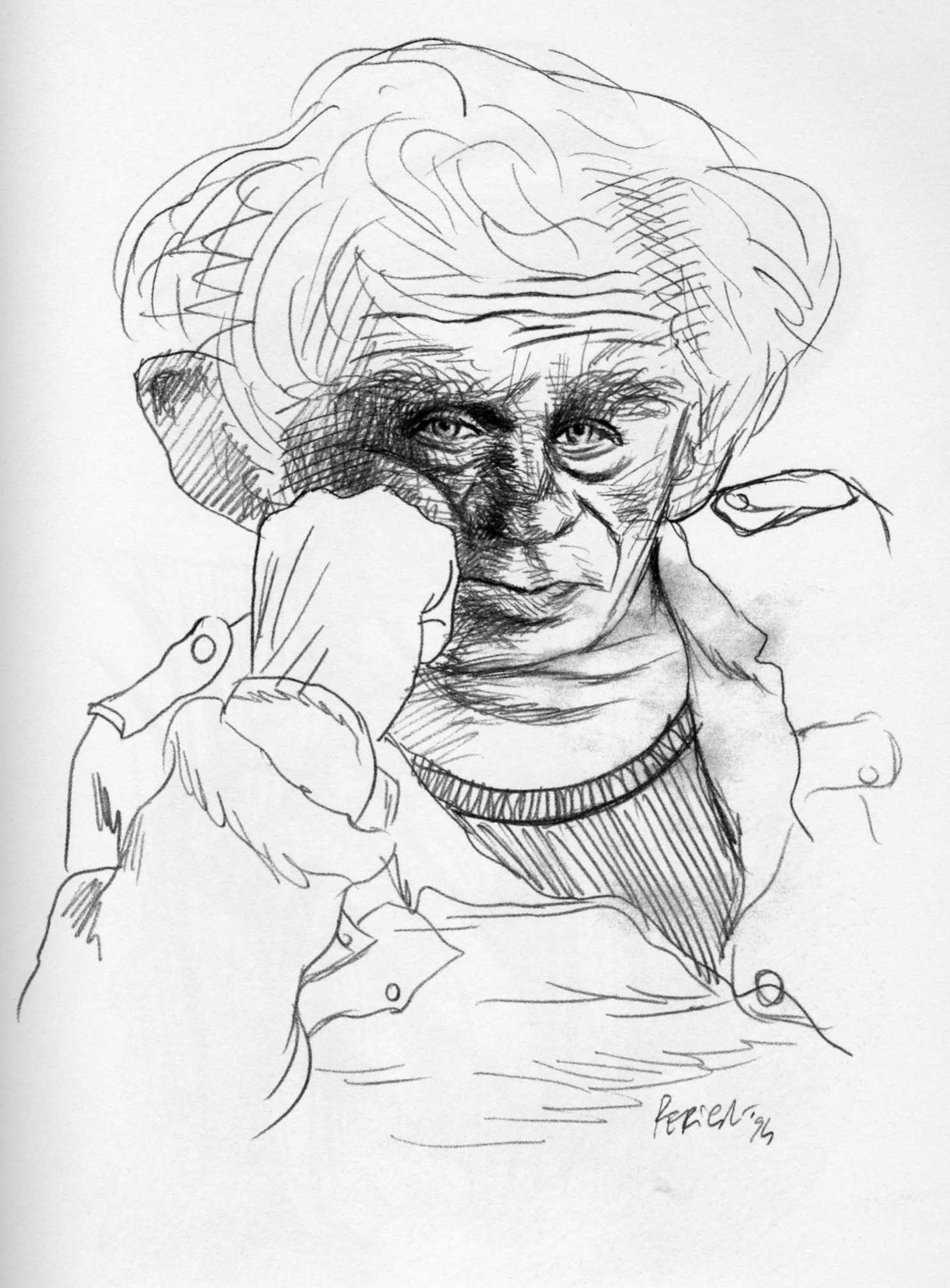 Tullio Pericoli    Norman Mailer