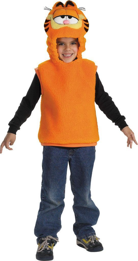toddler boy's costume: garfield vest | 3t-4t Case of 2