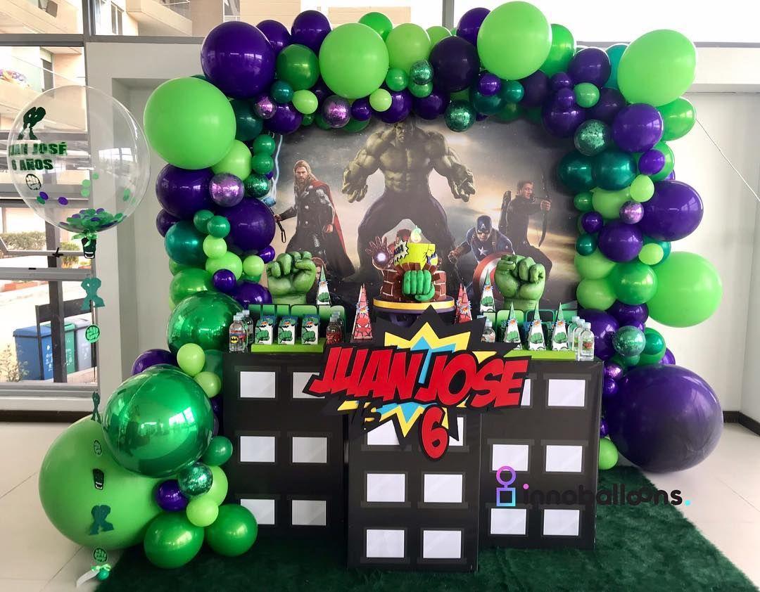 Fiesta Infantil De Hulk Temas Para Fiestas Infantiles De Nino Decoracion De Fiestas Fiestas De Cumpleanos De Hulk Fiesta De Hulk Increible Cumpleanos De Hulk