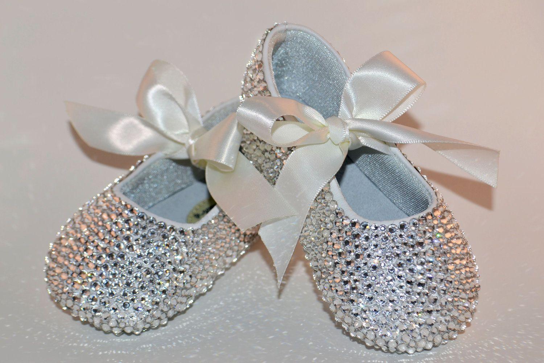 Baby Rhinestone Shoes Swarovski Crystal