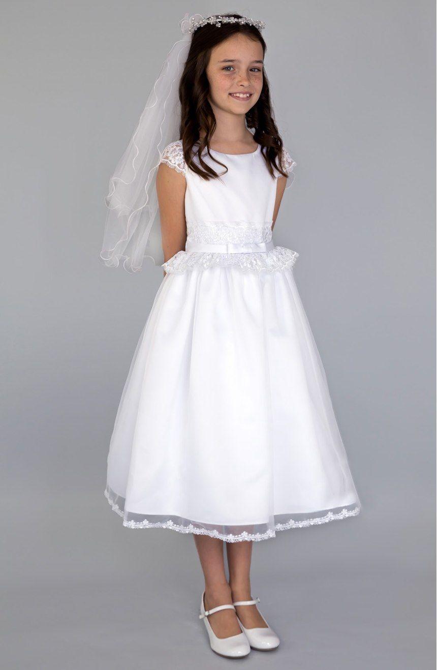 vestidos de primera comunion sencillos y elegantes