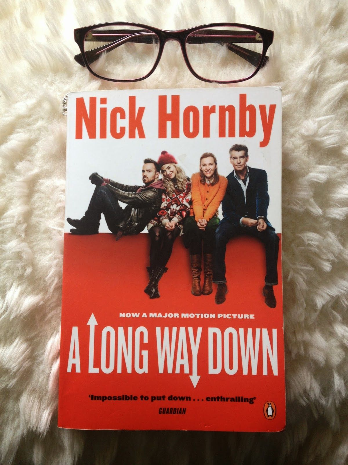 The Runway Runaway: 'A Long Way Down' by Nick Hornby : Book Review
