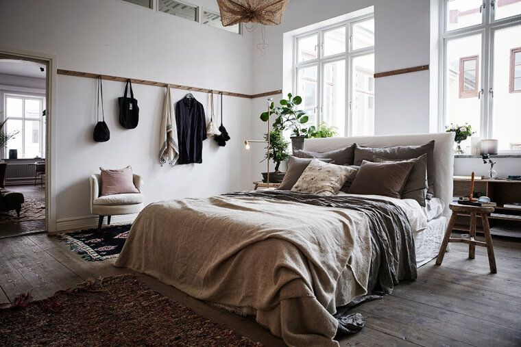 Master Mix A Shoppable Apartment In Gothenburg Sweden Small Master Bedroom Home Bedroom Home