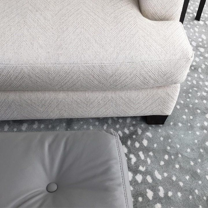Stark Carpet Antilocarpa In Colorway Smoke Living Room