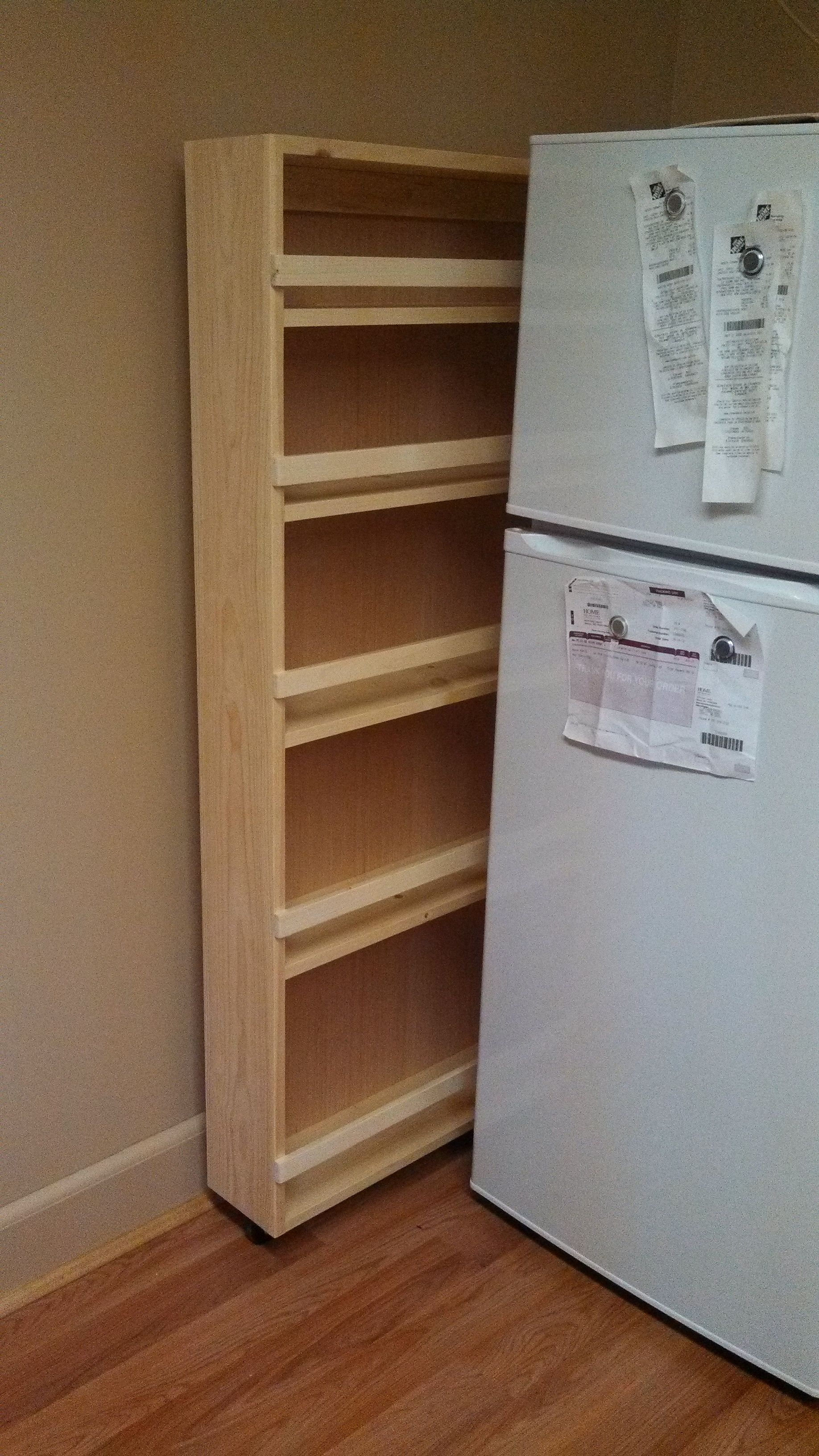 Rolling Food Pantry For My Super Tiny Apartment First