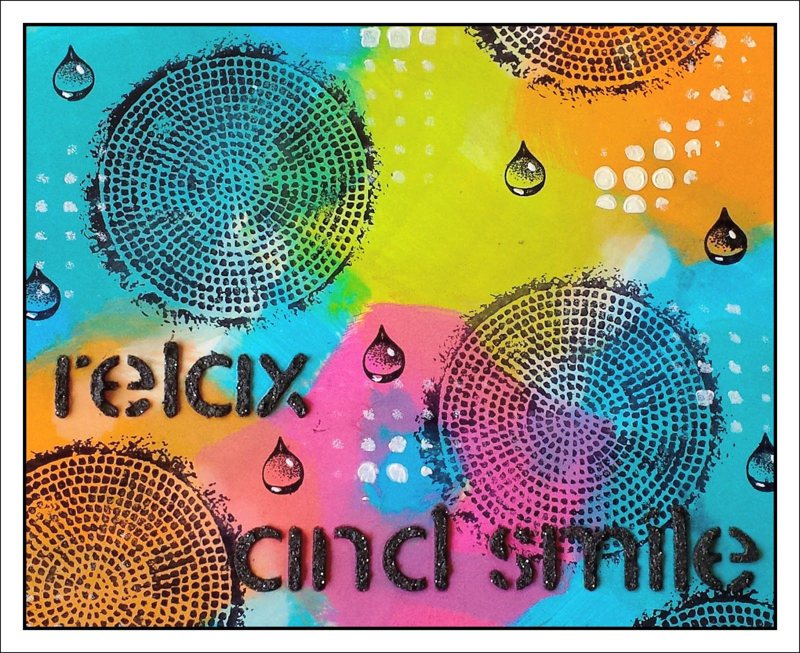 Creativity: relax and..