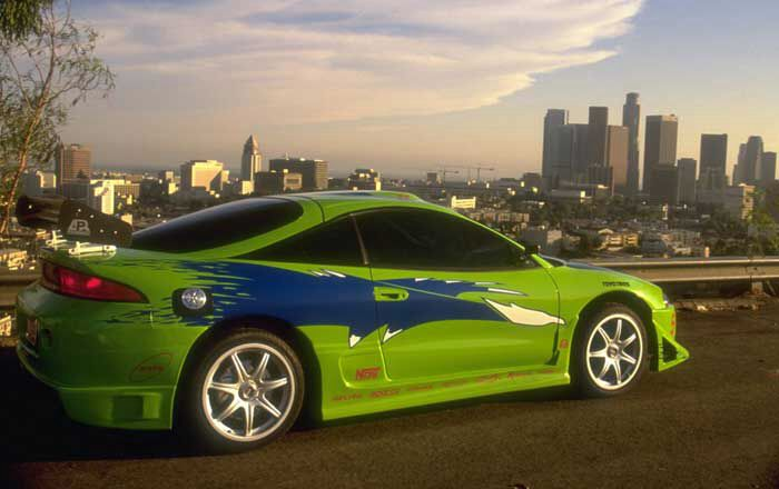 Mitsubishi Eclipse The Fast And The Furious 2001 Mitsubishi Eclipse Fast And Furious Fast Cars