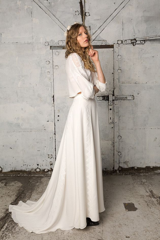 The Perfect Cool Girl Wedding Dress; The Indiebride Collection ...