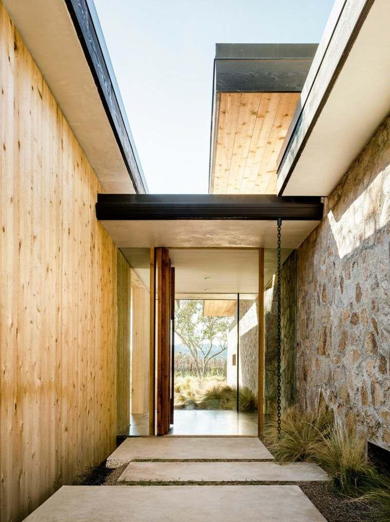 Architecture De Maison En Bois De Design Contemporain Flat Roof